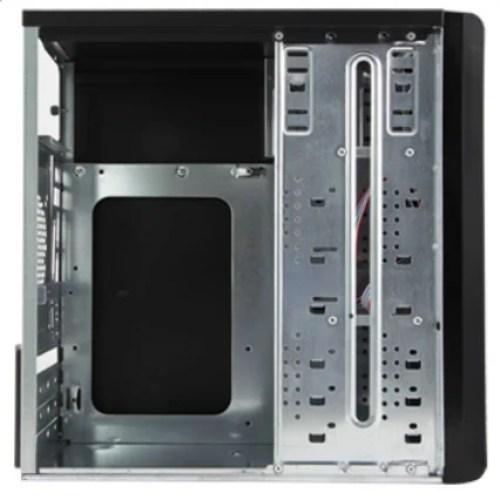 Black Zebronics Nuke Reduced Height Cabinets
