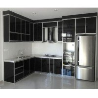 Modern Aluminium Kitchen Cabinet, Rs 1600 /square feet S ...