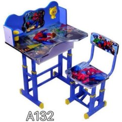 Kids Chair Set Inexpensive Lounge Cushions Printed Study Table Rs 2100 Rangildas And