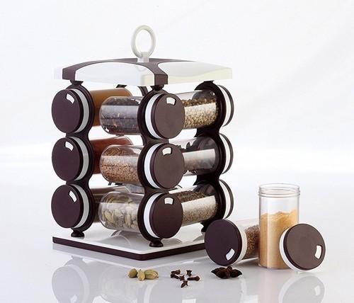 kitchen spice rack big island brown jen multipurpose revolving rs 250 piece id