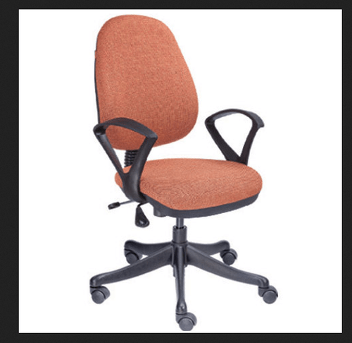geeken revolving chair wing back slipcover brown workstation series gw 702 sitting collection
