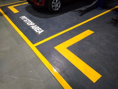 Floor Marking Paint Yellow Yamsixteen