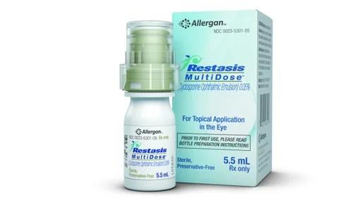 Restasis Eye Emulsion 1 Vial Per Pack Rs 2300 /box Care ...