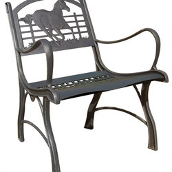 iron chair price computer no arms cast and bench manufacturer from rajkot