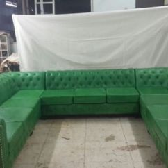 Chesterfield Sectional Sofa Suppliers Paint Ideas For Living Room With Tan Sofas Green Leather Id 14852613088