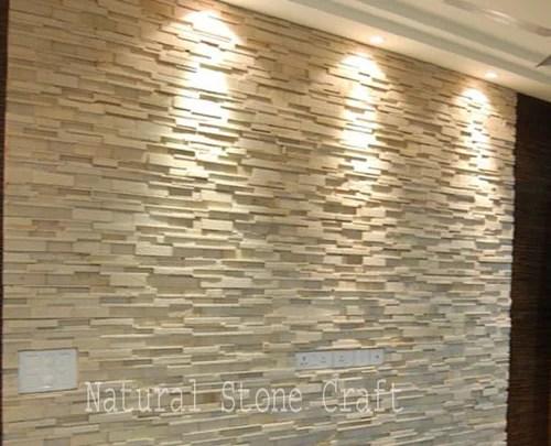 Stone Designer Elevation Tiles Size 150x600 Mm