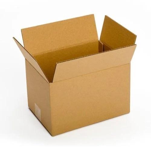 Plain Cardboard Box