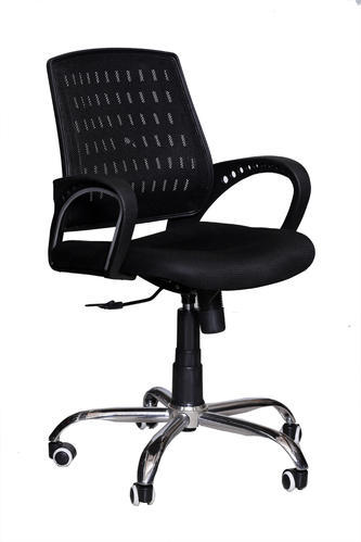 office chair height circle furniture dining chairs blazia net low back revolving 36 inch id