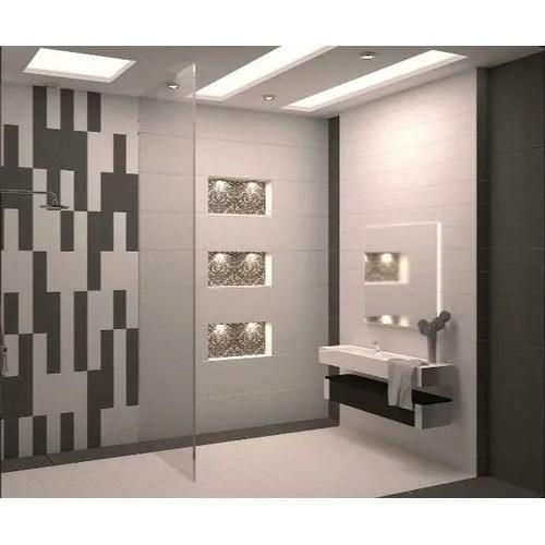 glossy bathroom wall tile