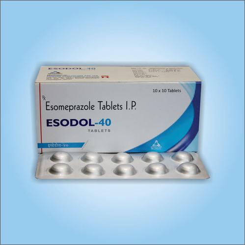 Esomeprazole 40mg Tablets at Rs 600 /box   Esomeprazole ...