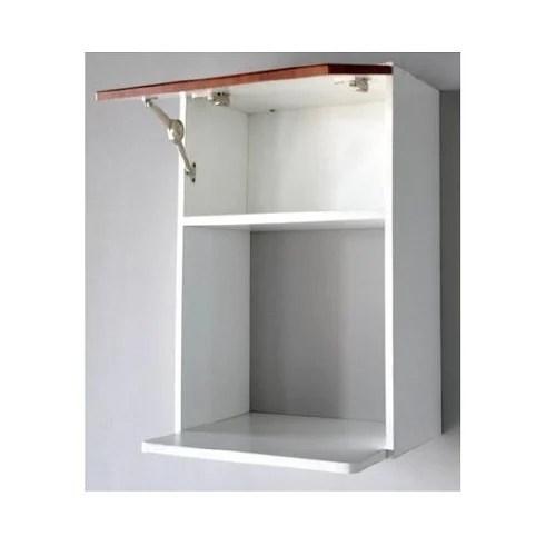 wall mounted microwave shelf unit
