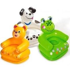 Intex Air Chair Folding Fabric Multicolor Teddy Bear Inflatable Rs 249 Ounce