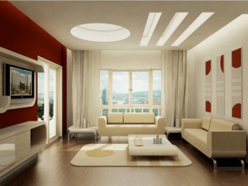 unique designs for living rooms tan couch room ceiling desings white glass false design architect interior town planner from hyderabad