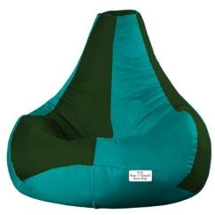 Green Bean Bag Chair Paint For Adirondack Chairs Leather Teardrop Bottle Size M L Xl Rs