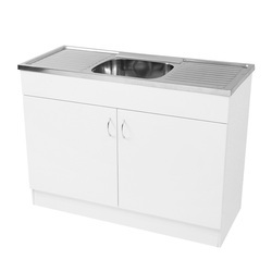 kitchen sink cabinets with glass cabinet doors at best price in india sterling wooden