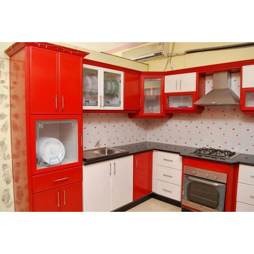 10 X 8 Designer Modular Kitchen Rs 80000 Unit Get Set Modular Kitchen Id 17141210897