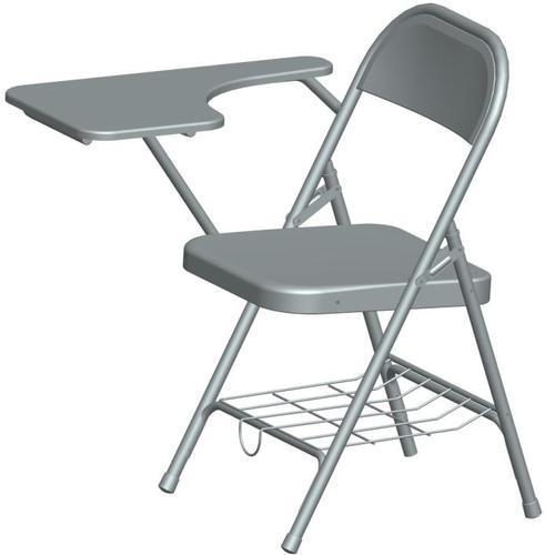 Mild Steel Grey MS Writing Pad Chair Rs 1400 piece J K