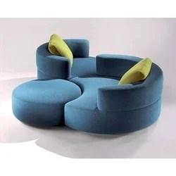 round sofa ottoman set