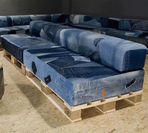 how to recycle my sofa faux suede cleaner denim pellet cafe booth rs 9000 piece rustic green id