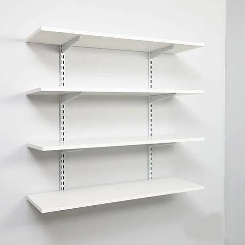 industrial wall mounted shelf