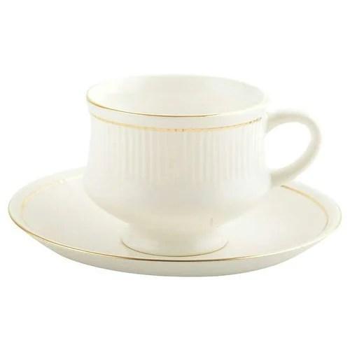golden lining tea cup