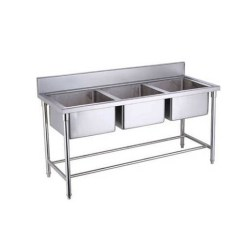 Triple Kitchen Sink Rubber Floor Mats Bowl At Rs 28000 Unit Foretech