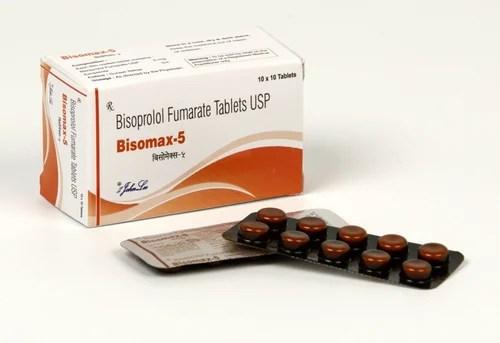 Bisoprolol Fumarate 2.5 mg Tablets Ambica Pharma   ID ...