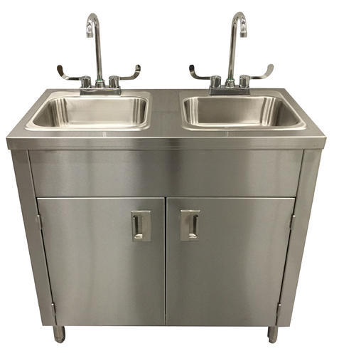 Glossy SS Handwash Sink With Tank Rs 5000 number G T