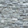 Grey Cultural Stone Cladding Exterior Wall Tile Thickness