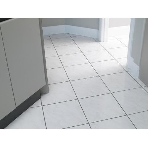 Ceramic Simple White Floor Tiles 510 Mm Size In Cm