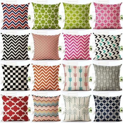 kitchen cushion covers zester tool fancy towels multi striped designer cover