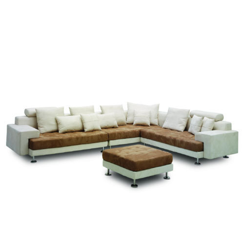 modern style tufted sectional sofa