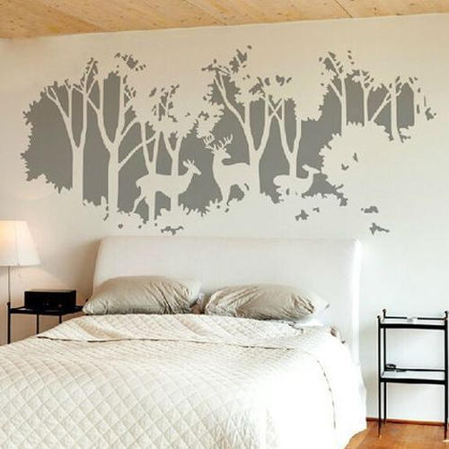 Available In Various Color Bedroom Wall Painting Size