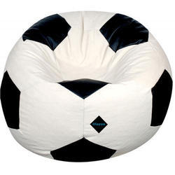 football bean bag chair queen anne wingback leather leatherette all colors rs 1200 piece al madina