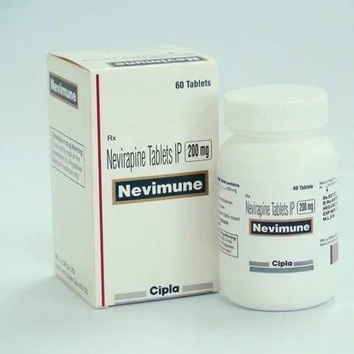 Nevirapine Nevimune 200 Mg Tablet Treatment: Anti Viral ...