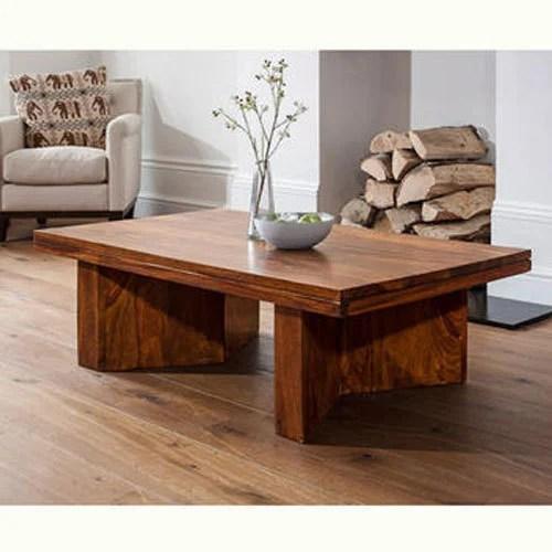 designer wooden coffee table