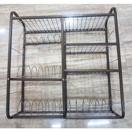 kitchen utensil rack swan granite sinks fortune blu stainless steel wall mounted dish rs 280 kilogram