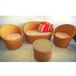 cane sofa cost in hyderabad red velvet for sale set telangana get latest price from brown