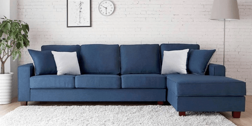 color sofa howard parlor andrea l shape in navy blue type स क शनल