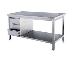 kitchen work tables table benches at rs 4500 running feet