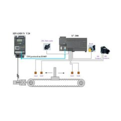 Siemens Vfd Wiring Diagram 2007 Nissan Xterra Stereo Data Today Single Phase V20 Variable Frequency Drive Rs 10000 Unit Motor