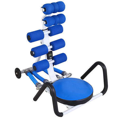 ab cruncher chair patio rocking set gamma fitness blue machine rs 8000 unit