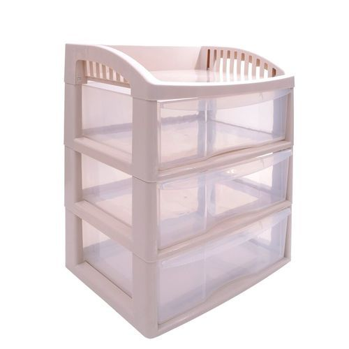 kitchen storage racks single sink pink klaxon plastic drawer rack rs 1176 piece krios