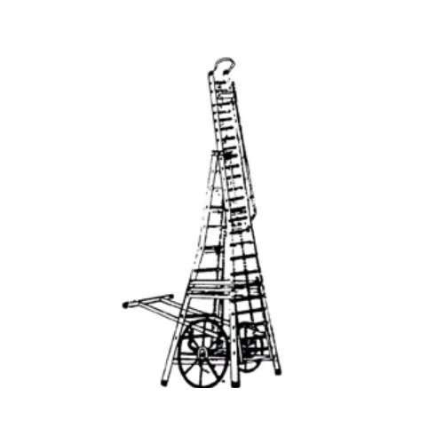Raja Black Road Tower Ladder, Rs 1800 /running feet, Raja