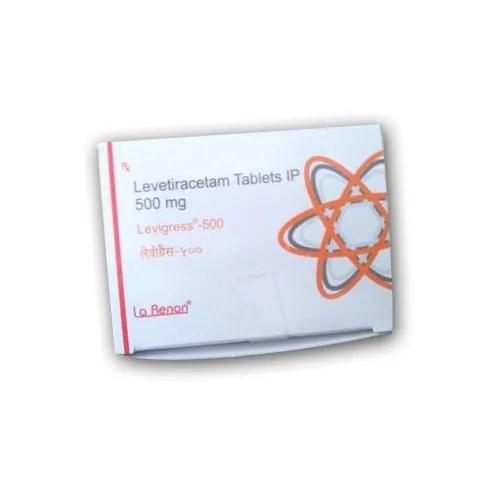 Levetiracetam Tablets IP 500 mg Packaging Type: Strip Rs ...