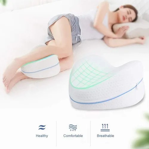 sleeping memory cotton leg pillow back hip joint knee pain relief cushion
