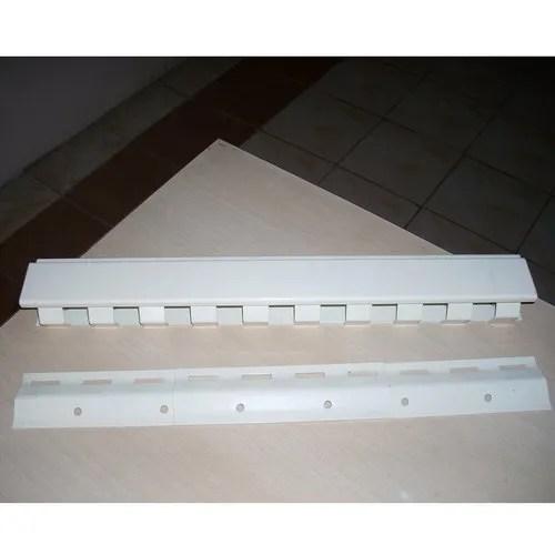 pvc strip curtain mounting bracket