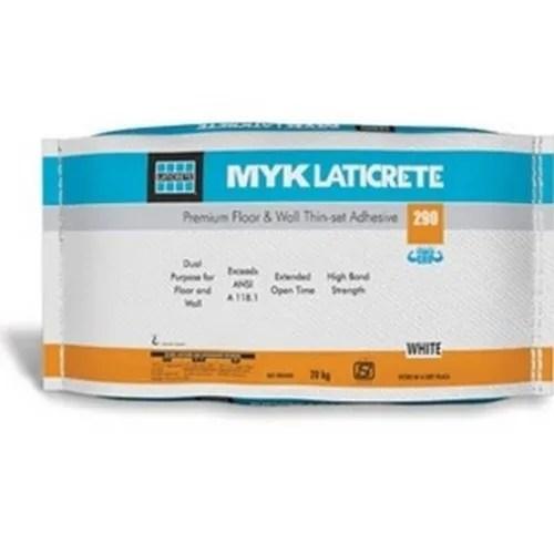 myk laticrete tile adhesive myk