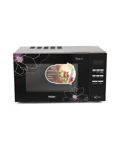 haier 23 l convection microwave oven hil2301cbsb black
