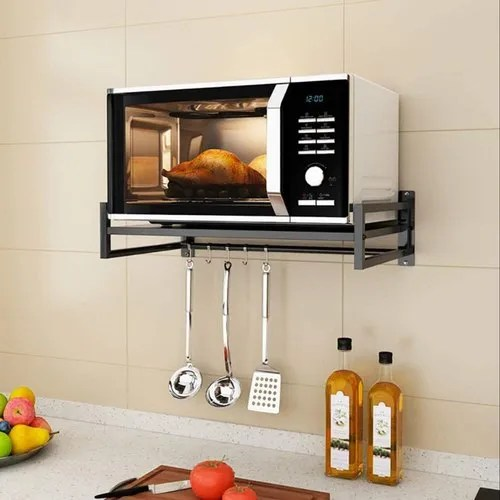 microwave oven wall mount stand